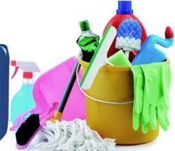 Detergenza, Monouso, Carta asciugamani, Stracci, Scope