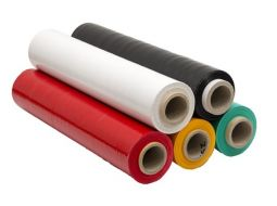 Film estensibile colorato/Trasparente, Miniroll, Dispenser