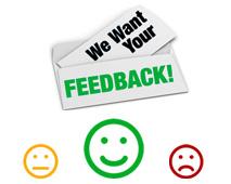 Lascia il tuo feedback