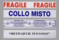 Nastro adesivo 50x132, stampa  personalizzata 1 colore