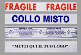 Nastro adesivo 50x132, stampa  personalizzata 2 colori