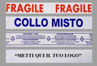 Nastro adesivo 50x66, stampa  personalizzata 1 colore