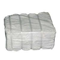 Balla da 20 kg di stracci lenzuolo bianchi già tagliato