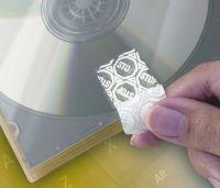 Confezione da 960 etichette bianche anti manomissione 45,7x21,2mm