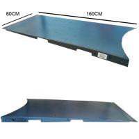 Rampa di carico per fasciapallet a tavola rotante