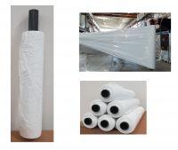 Film estensibile bianco manuale, anima plastica 35 my peso 2,7 kg