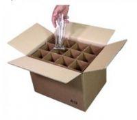 Kit trasporto di 12 bicchieri altezza massima 29cm.  Per traslochi (Acquisto minimo 4Pz.)
