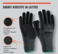 GUANTO RIVESTITO IN LATTICE TG 10